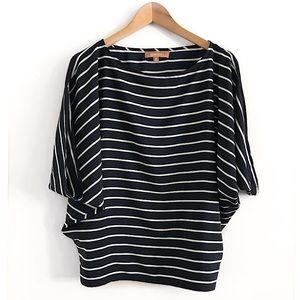 Ellen Tracy top Blouse Shirt size M